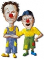 Les clowns Boulon & Rikiki